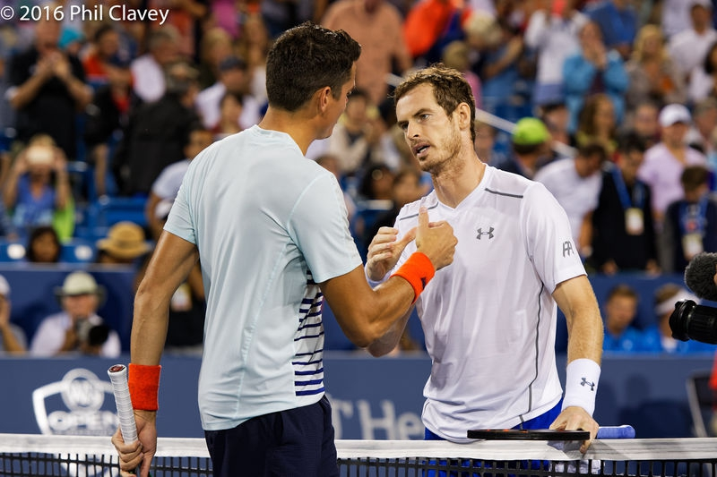 Murray vs Raonic 2016