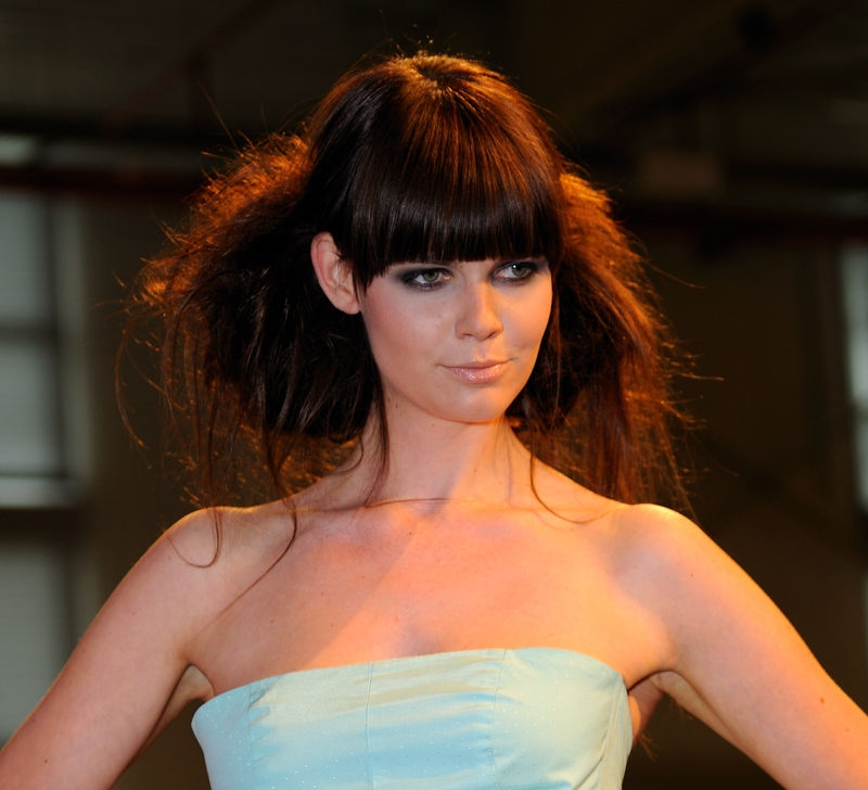 Fashion Model closeup