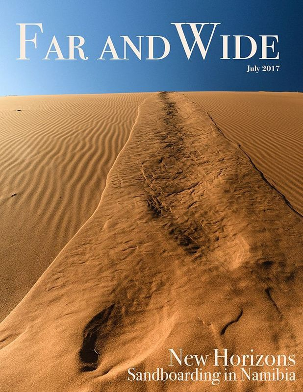 Far and Wide - Magazine Cover