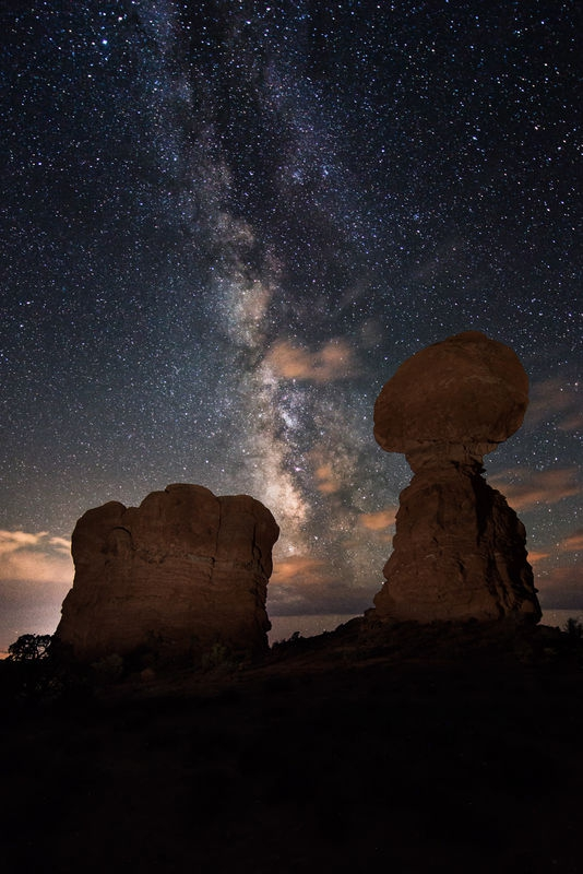 Balance the Milky Way