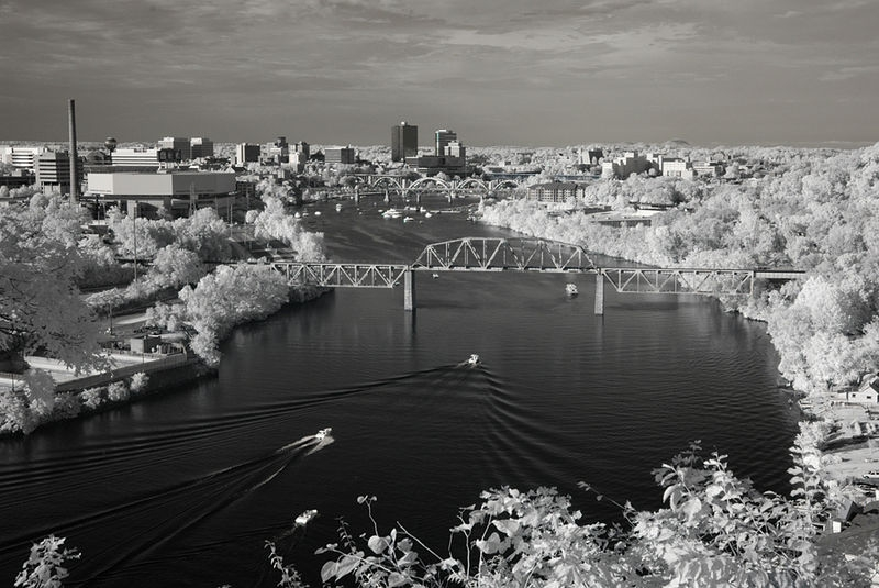 Infrared - Tennessee River - Knoxville