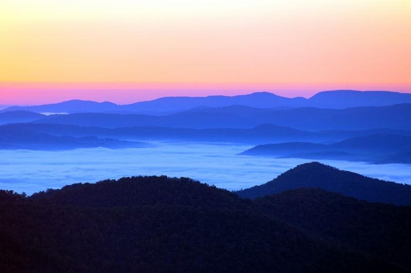 Blue Ridge Morn