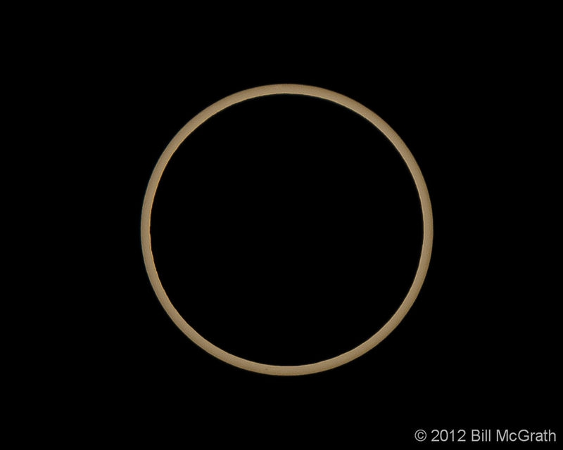 Center of eclipse