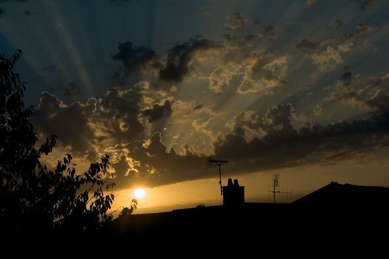 Sunrise over St Martin